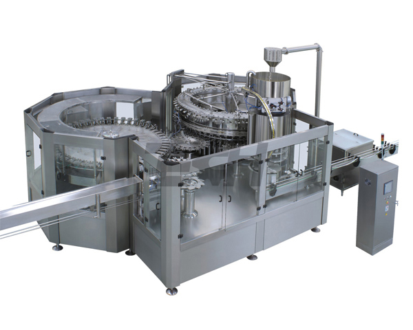 Atmospheric three-in-one filling machine