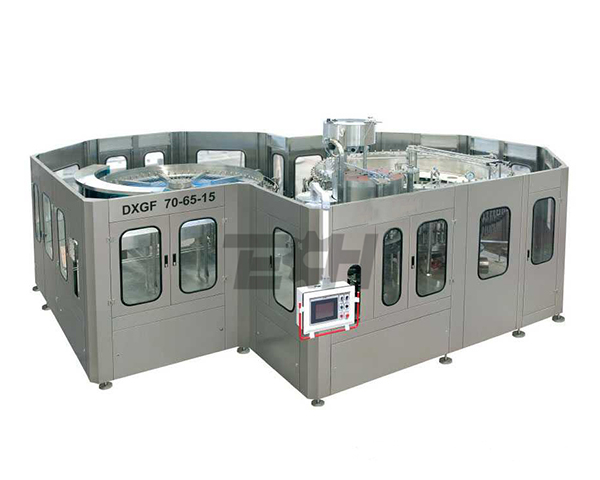 Isobaric three-in-one filling machine