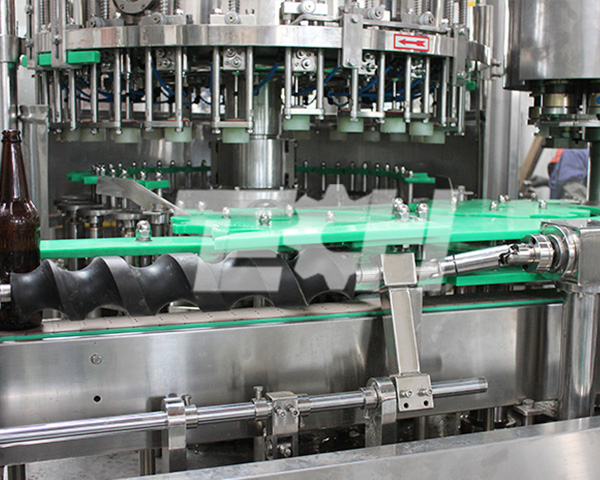 Beer filling machine