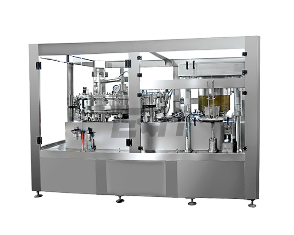 Cans without gas beverage filling machine